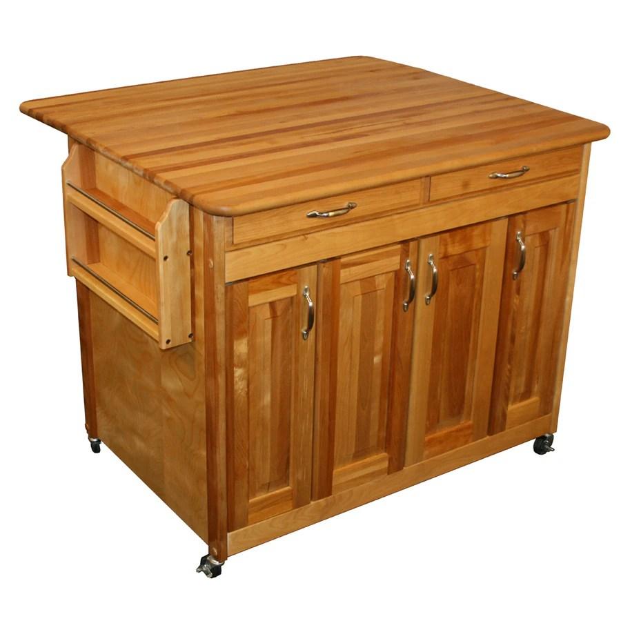 catskill craftsmen kitchen island white storage cabinet brown farmhouse at lowes com
