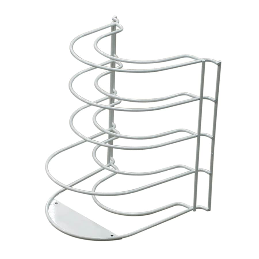 Shop Style Selections Coated Wire Plate Rack at Lowes.com
