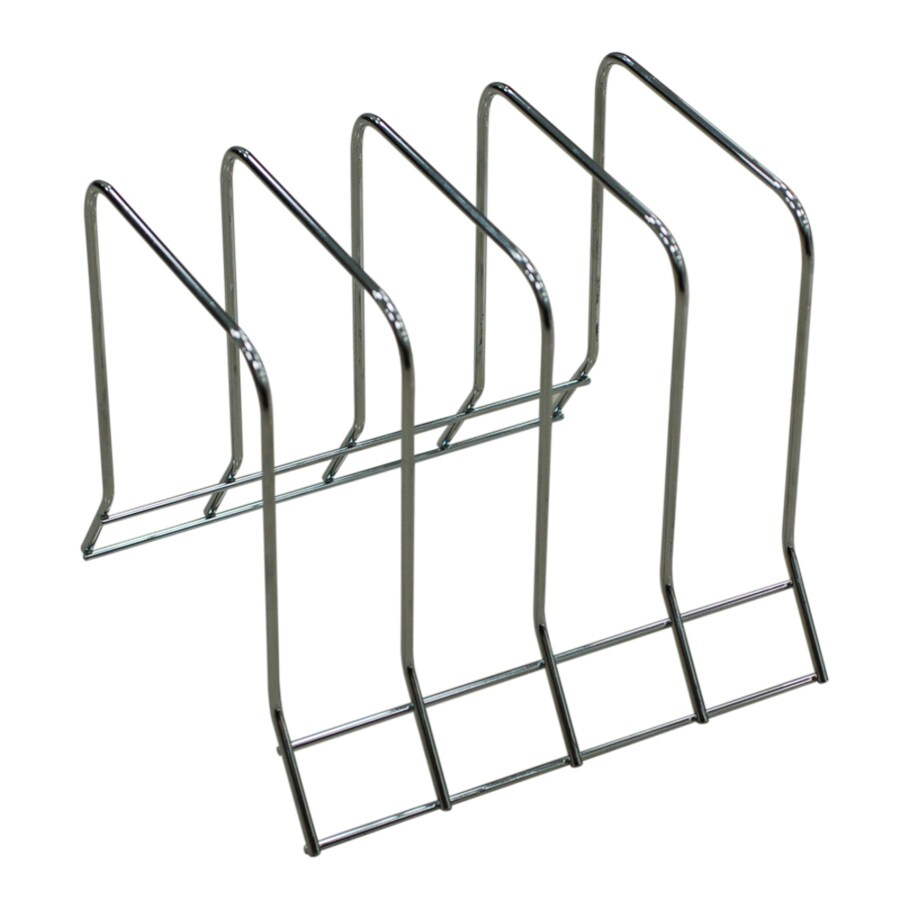 Shop Style Selections Chrome Stairstep Rack at Lowes.com