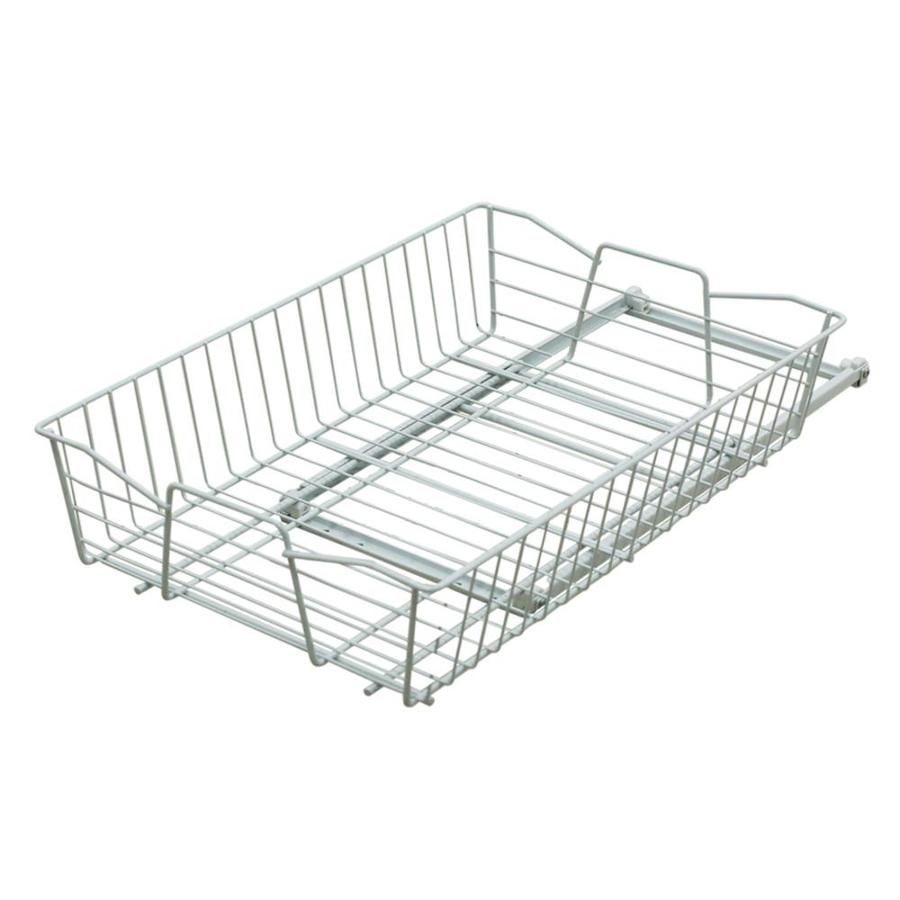 Shop Style Selections 11.02-in W x 5.51-in 1-Tier Pull Out