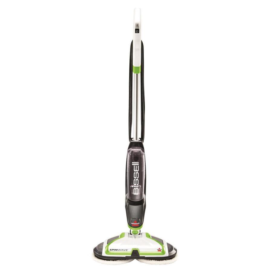 bissell spinwave hard floor mop 1 speed 0 218 floor scrubber