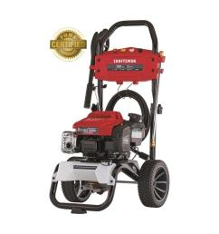 craftsman 3000 psi 2 5 gpm cold water gas pressure washer with briggs and stratton engine carb [ 900 x 900 Pixel ]
