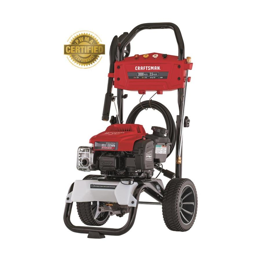hight resolution of craftsman 3000 psi 2 5 gpm cold water gas pressure washer with briggs and stratton engine carb