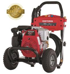 craftsman 3300 psi 2 3 gpm cold water gas pressure washer with honda wiring diagram for craftsman pressure washer [ 900 x 900 Pixel ]
