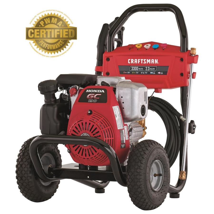 hight resolution of craftsman 3300 psi 2 3 gpm cold water gas pressure washer with honda wiring diagram for craftsman pressure washer