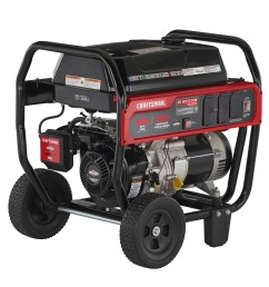 craftsman 5000 running watt gasoline portable generator with briggs and stratton engine [ 900 x 900 Pixel ]