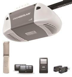 chamberlain 0 5 hp chain drive garage door opener works with myq [ 900 x 900 Pixel ]