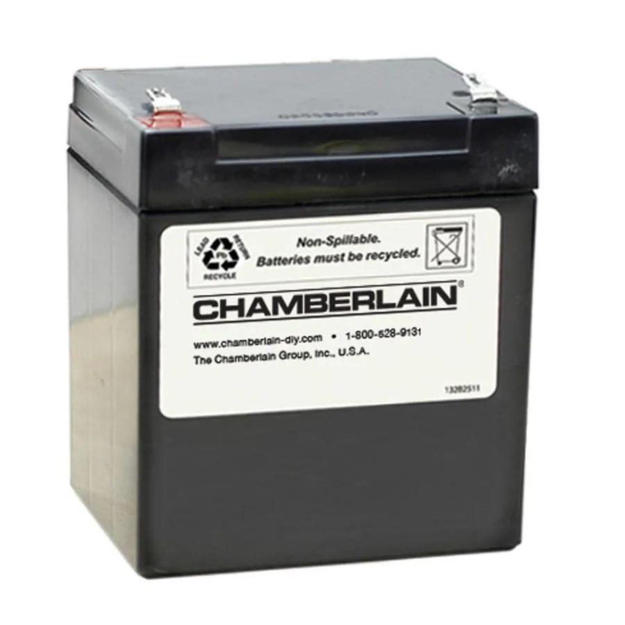 medium resolution of chamberlain garage door battery