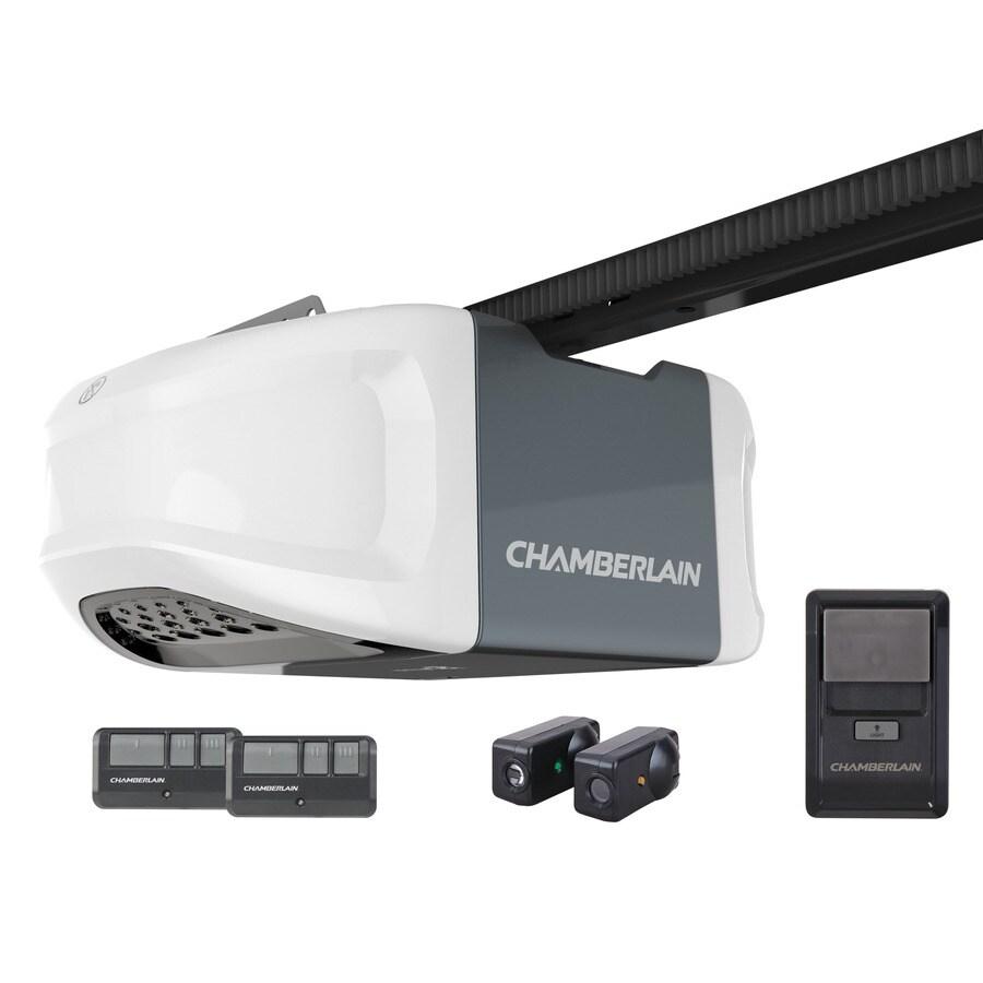 Chamberlain 05HP Whisper Drive Belt Drive Garage Door Opener Works with MyQ at Lowescom