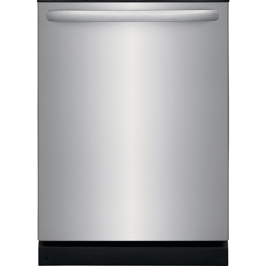 medium resolution of frigidaire 54 decibel built in dishwasher easycare stainless steel common 24 inch actual 24 in energy star