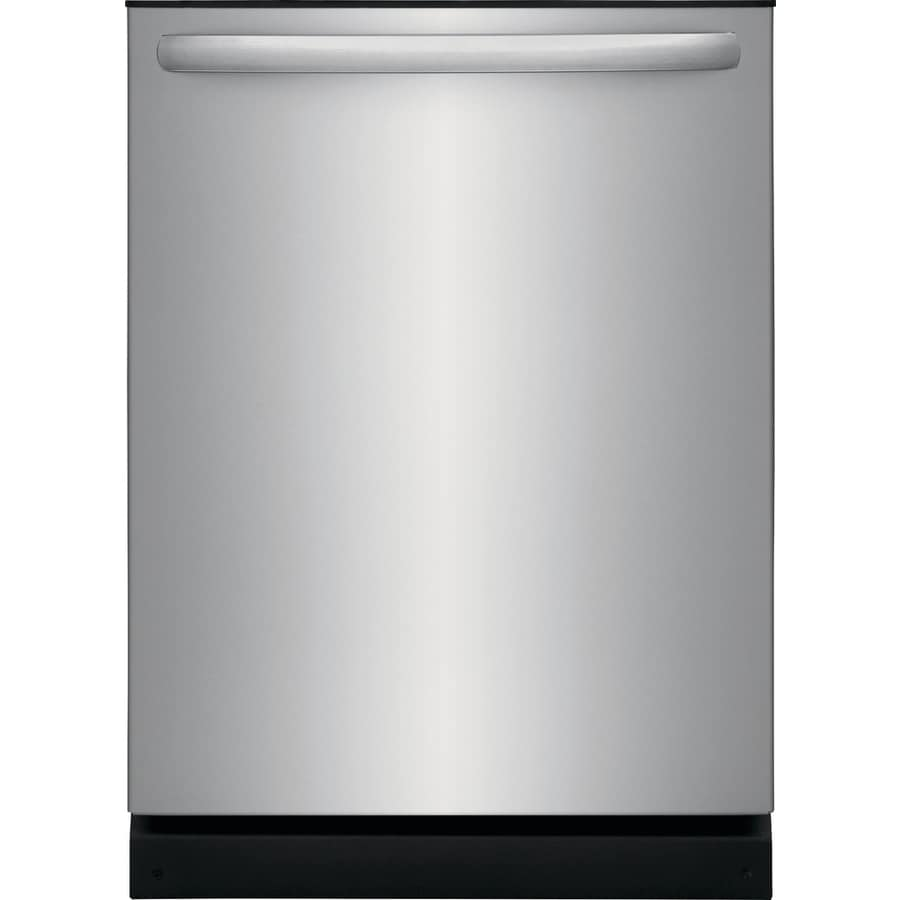 hight resolution of frigidaire 54 decibel built in dishwasher easycare stainless steel common 24 inch actual 24 in energy star