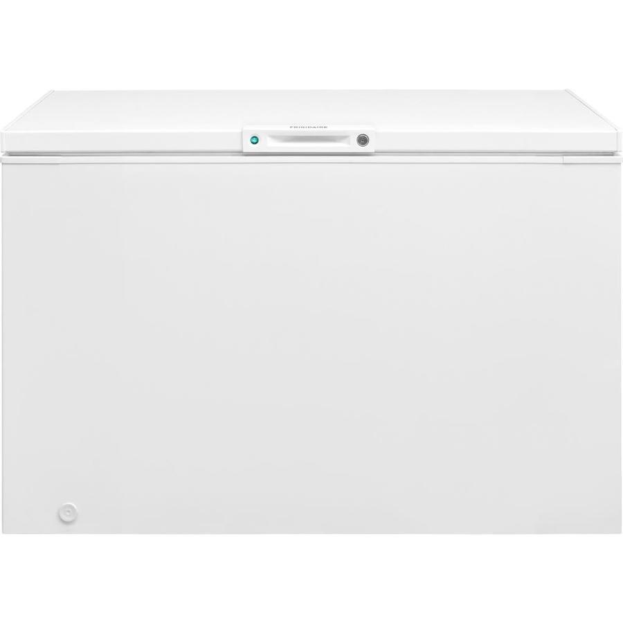 medium resolution of frigidaire 12 8 cu ft manual chest freezer white