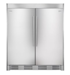 frigidaire side by side refrigerator trim kit stainless steel  [ 900 x 900 Pixel ]