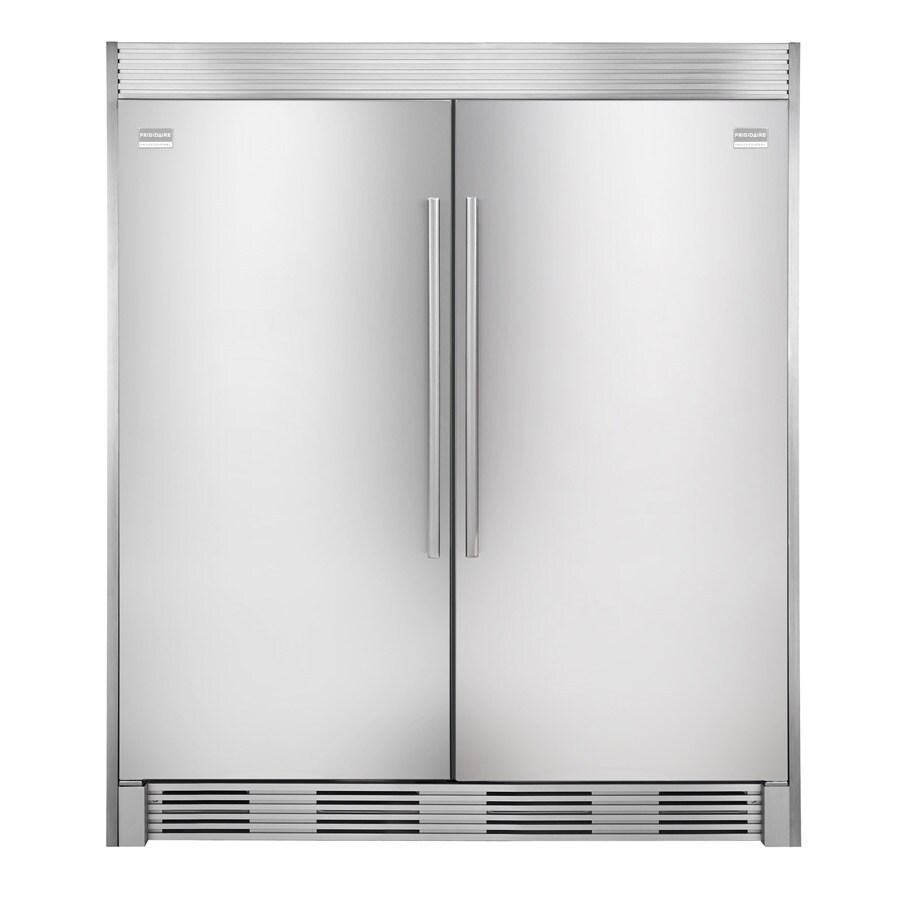 medium resolution of frigidaire side by side refrigerator trim kit stainless steel