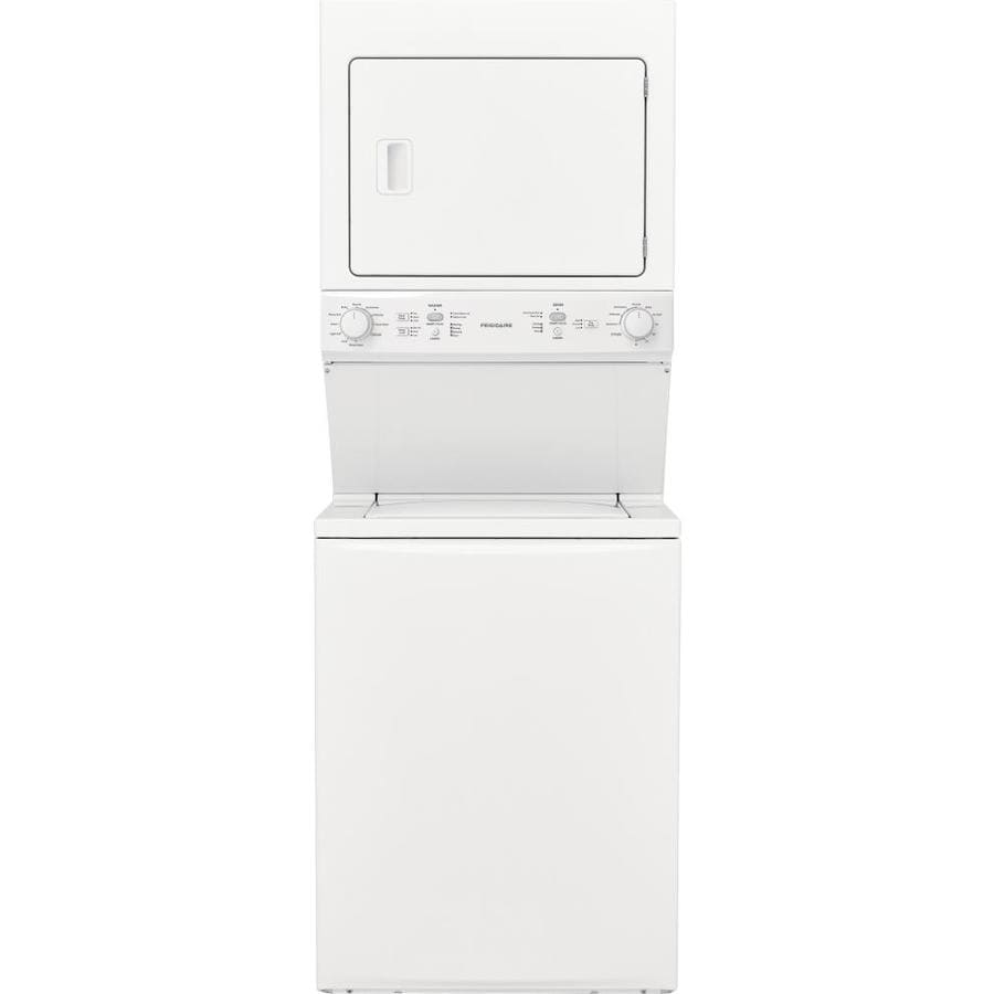 medium resolution of  white frigidaire stacked laundry center with 3 9 cu ft washer and 5 5 cu on frigidaire wiring diagram frigidaire