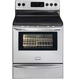 frigidaire gallery smooth surface freestanding 5 element 5 7 cu ft self cleaning convection [ 900 x 900 Pixel ]