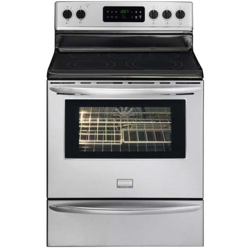 small resolution of frigidaire gallery smooth surface freestanding 5 element 5 7 cu ft self cleaning convection