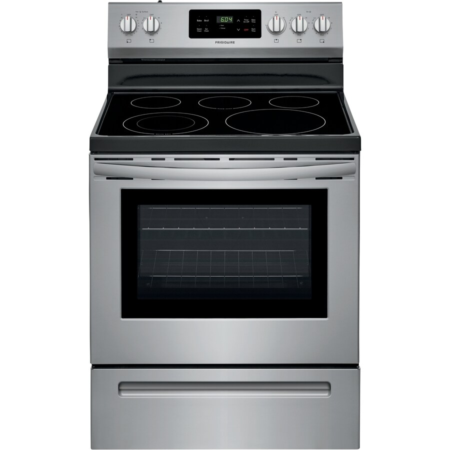 electric stove free data flow diagram software ranges at lowes com display product reviews for smooth surface freestanding 5 element 4 cu ft steam