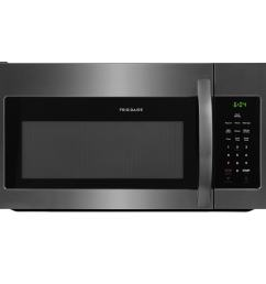 frigidaire 1 6 cu ft over the range microwave black stainless steel common 30 in actual 29 875 in  [ 900 x 900 Pixel ]