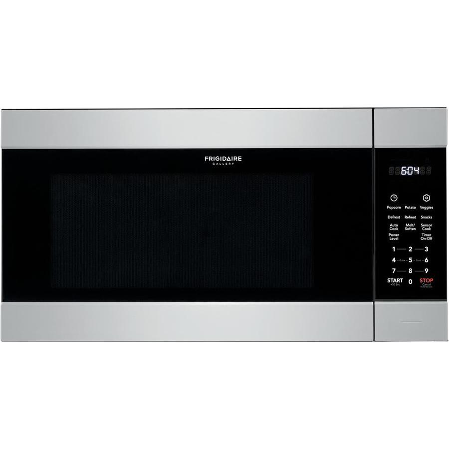hight resolution of frigidaire gallery 2 2 cu ft microwave with sensor cooking controls smudge proof stainless steel
