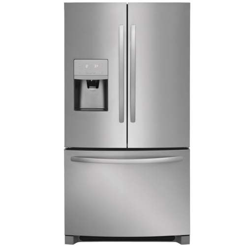small resolution of frigidaire 26 8 cu ft french door refrigerator with ice maker easycare stainless steel energy star