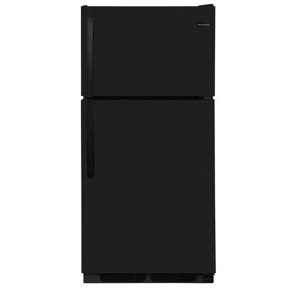 Frigidaire 14.5-cu Ft Top-freezer Refrigerator Black