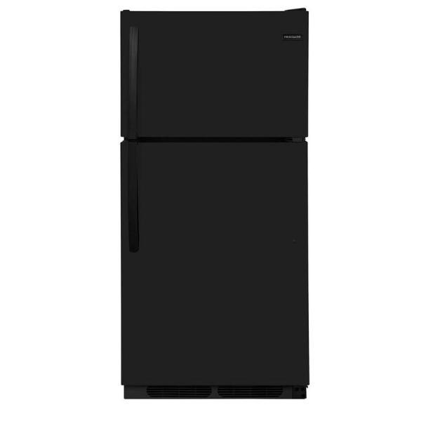 Frigidaire 14.5-cu Ft Top-freezer Refrigerator Black Energy Star