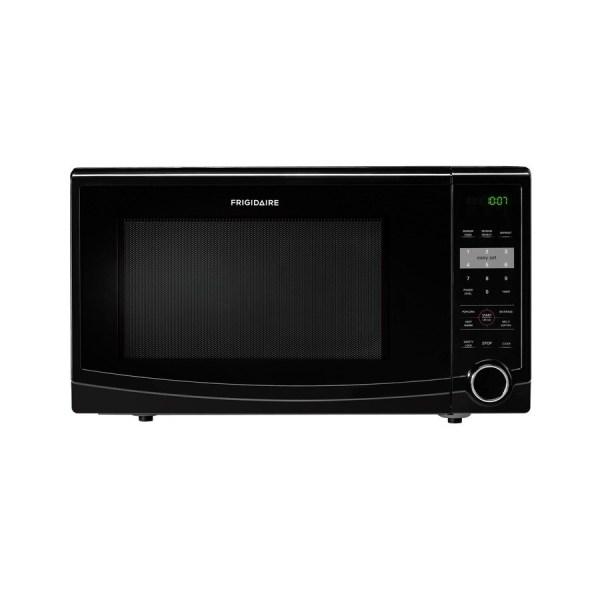 Frigidaire 1.1-cu Ft 1 100-watt Countertop Microwave Black