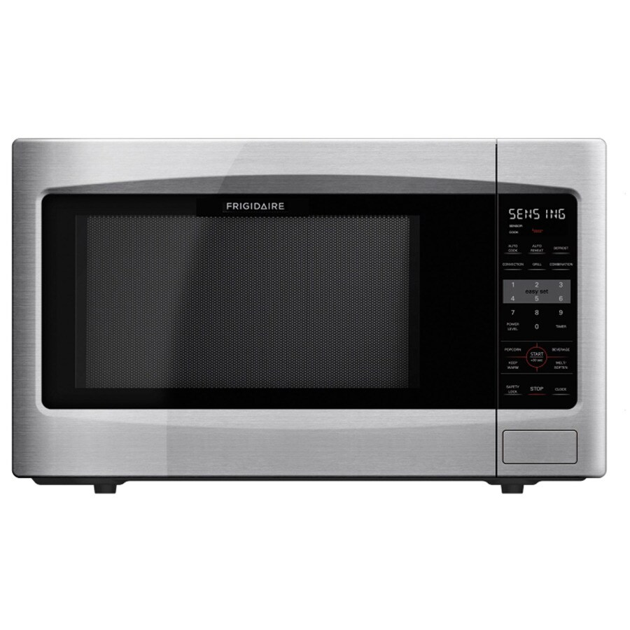 frigidaire 2 2 cu ft 1 200 watt countertop microwave stainless steel