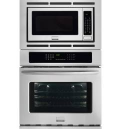 frigidaire gallery self cleaning with steam true convection microwave wall oven combo stainless steel common 27 inch actual 27 in  [ 900 x 900 Pixel ]