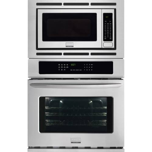 small resolution of frigidaire gallery self cleaning with steam true convection microwave wall oven combo stainless steel common 27 inch actual 27 in
