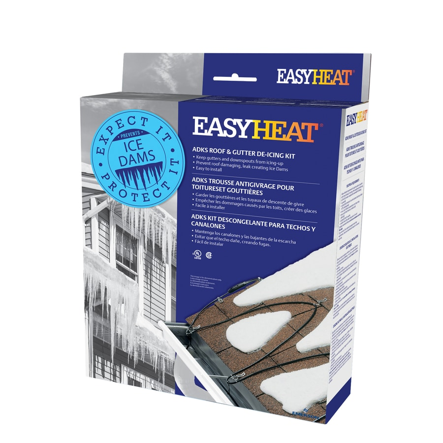 hight resolution of easyheat adks 120 ft 600 watt roof heat cable