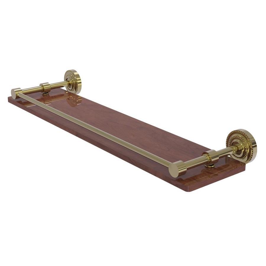 Allied Brass Dottingham Unlacquered Brass Brass Bathroom