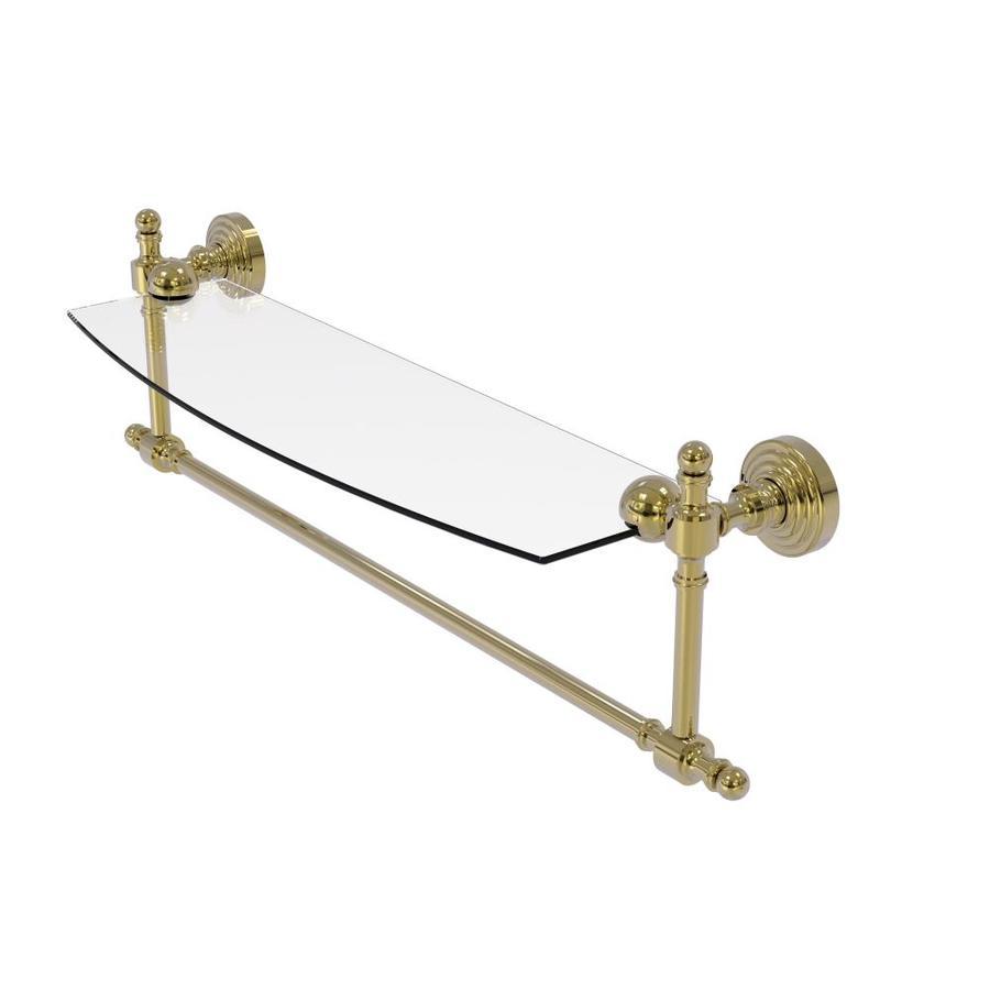 Allied Brass Retro Wave Unlacquered Brass Brass Bathroom