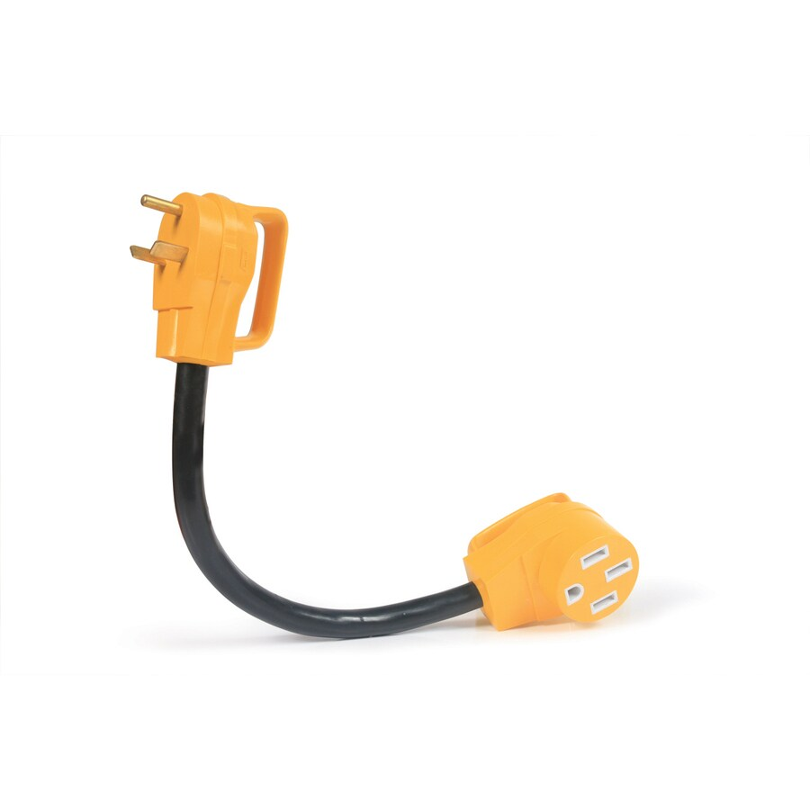 hight resolution of camco 30 amp 3 wire grounding single to single yellow adapter