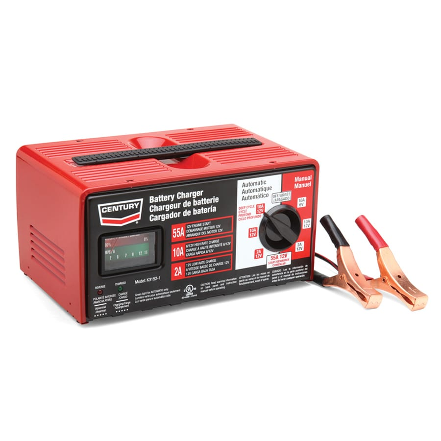 medium resolution of century 55 amp battery charger