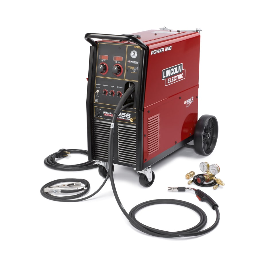 medium resolution of lincoln electric 240 volt 300 amp mig flux cored wire feed welder