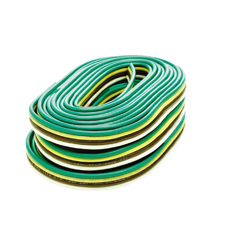 medium resolution of reese towpower 25 ft bonded 4 way trailer wiring package at lowes comreese towpower 25 ft