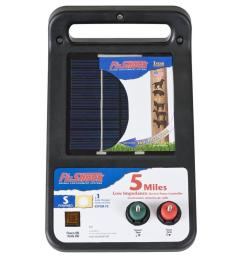 electric pet fencing u0026 training at lowes comfi shock 5 mile solar electric fence charger [ 900 x 900 Pixel ]