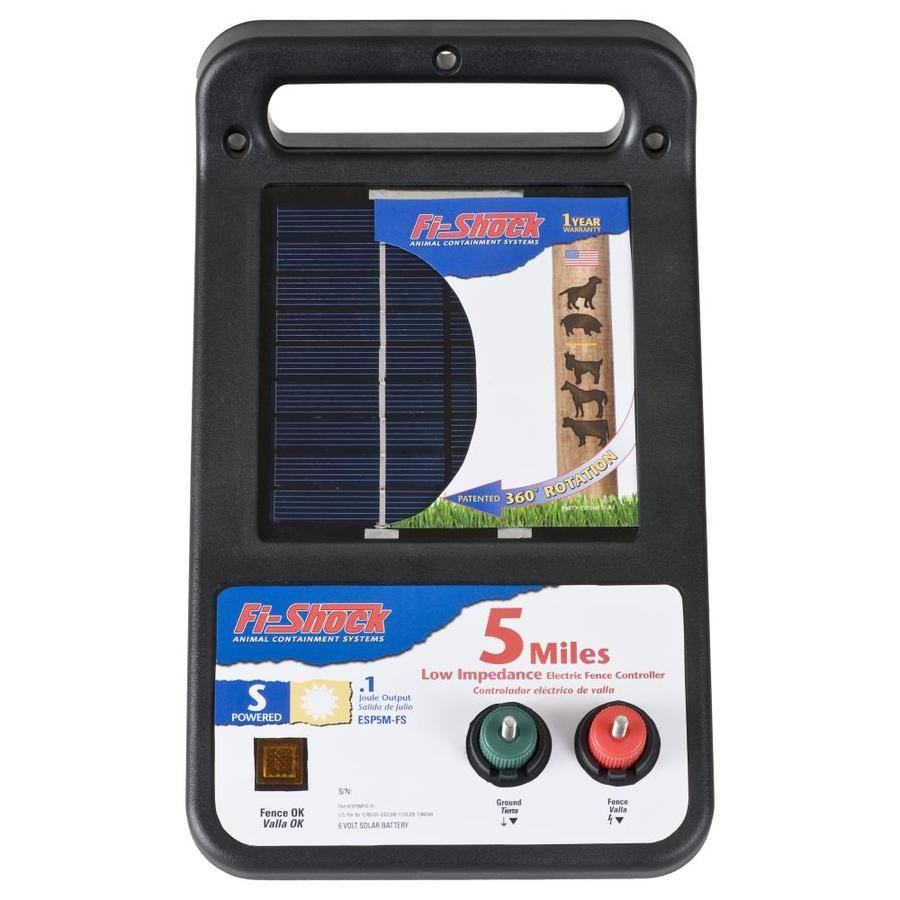 hight resolution of electric pet fencing u0026 training at lowes comfi shock 5 mile solar electric fence charger