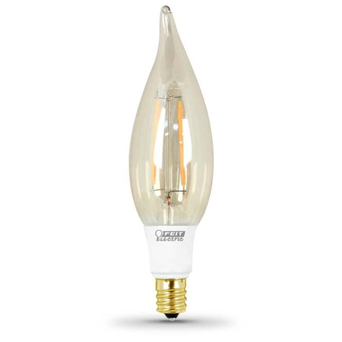 Feit Electric 40w Equivalent Dimmable Soft White Led Decorative Light Bulb