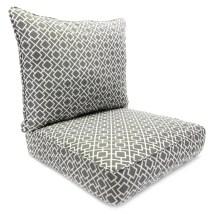 Jordan Manufacturing 2-piece Poet Gray Deep Seat