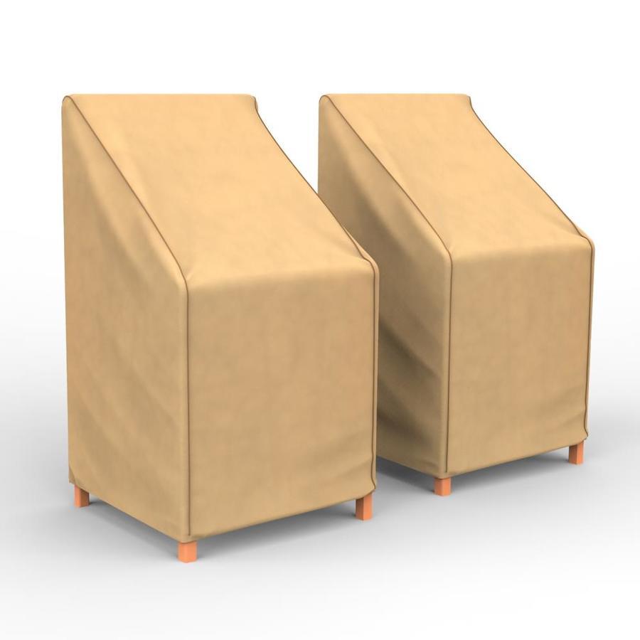 budge all seasons nutmeg polypropylene patio furniture cover
