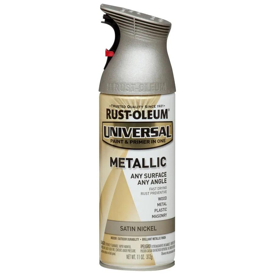 Nickel Spray Paint Metal