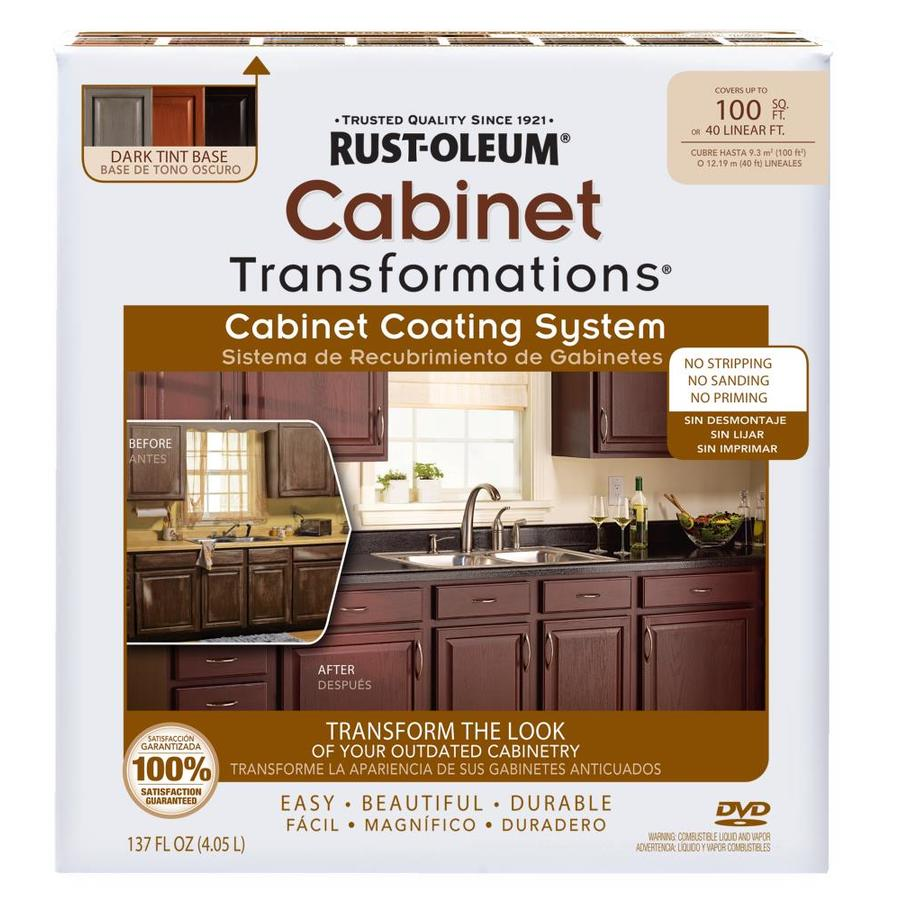 rustoleum kitchen cabinet kit reviews backsplash ideas rust-oleum transformations dark base satin ...