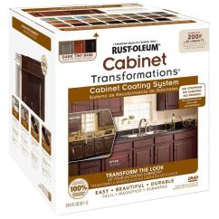 Lowes Refacing Kitchen Cabinets High End Faucet Shop Rust-oleum Cabinet Transformations Dark Base Satin ...