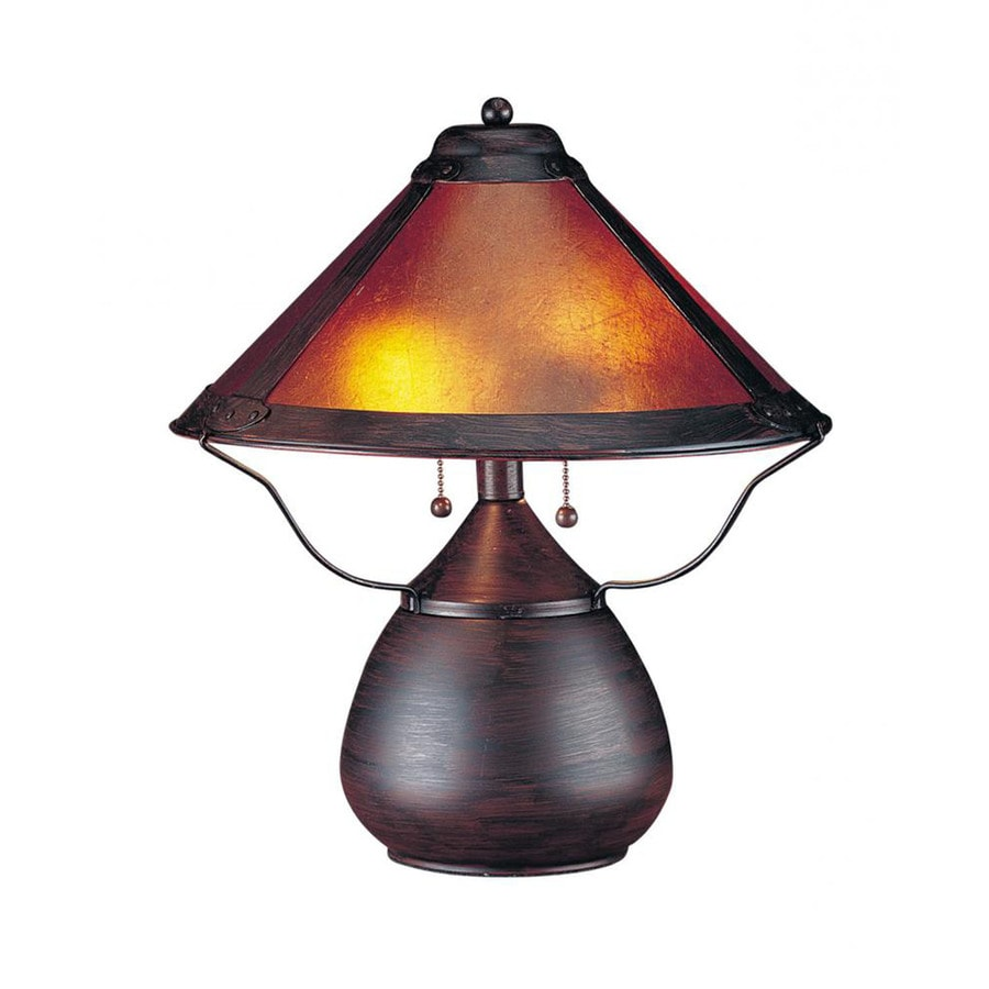 3 way outlet dball2 wiring 17 in rust electrical switch table lamp with glass shade at lowes com