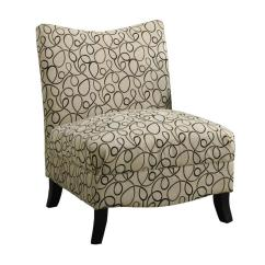 Grey Velvet Slipper Chair Fisher Price Sit And Play Monarch Specialties Casual Tan Swirl At Lowes Com