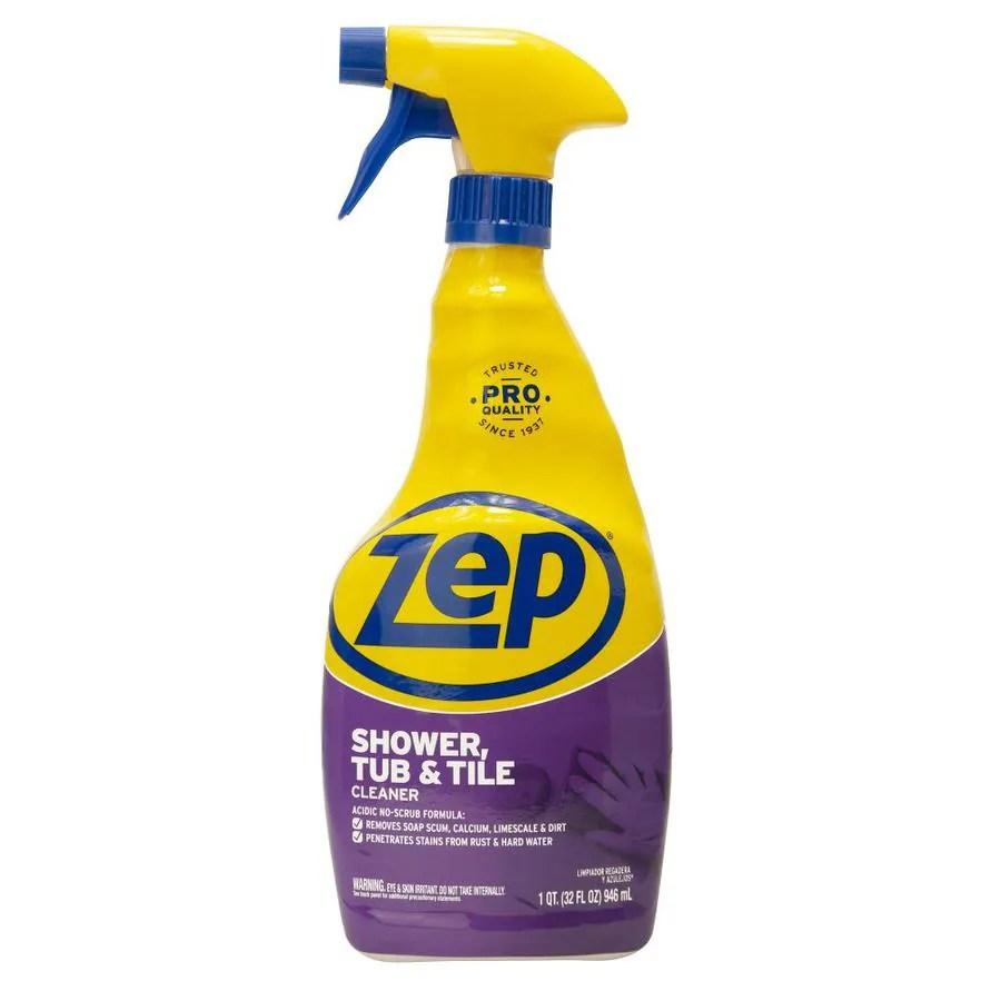 Shop Zep Commercial Shower, Tub And Tile 32fl Oz Shower