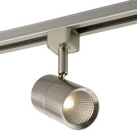 Shop Project Source 1-Light Dimmable Brushed nickel Flat ...